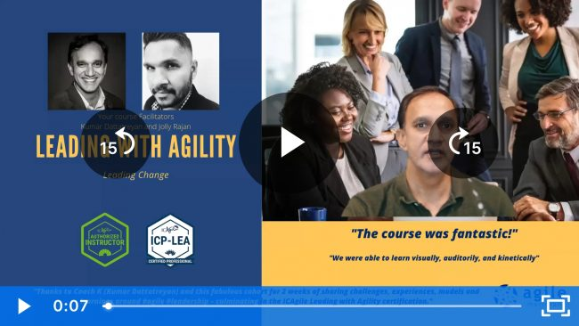 Leading With Agility